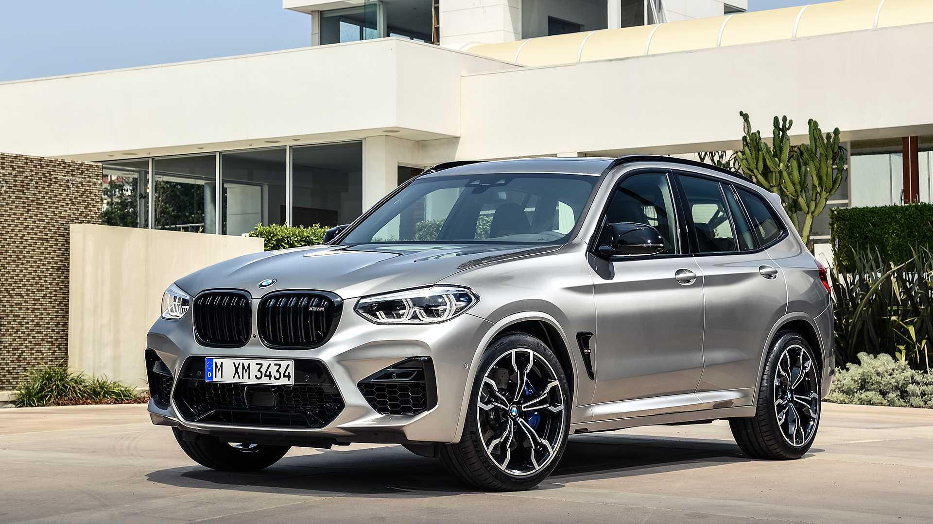 BMW X3 M 2019 года.