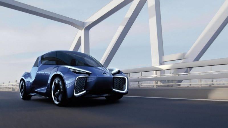 Один из вариантов концептов будущих продуктов Toyota.