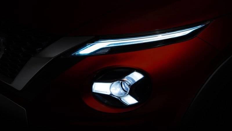 Нынешнее изображение Nissan Juke нового поколения.