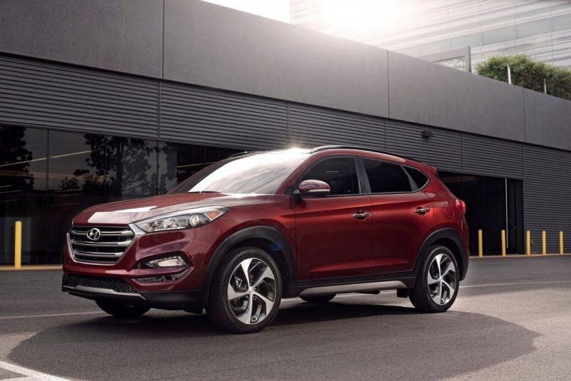 Hyundai Tucson текущего поколения.